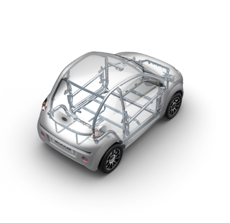 du premium voiture sans permis microcar bretagne mini voiture crach. Black Bedroom Furniture Sets. Home Design Ideas